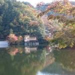 さて、紅葉は?鎌北湖と宿谷の滝