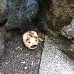 神社に水を汲みに行ってきたよ。
